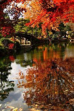 Fall bridge.
