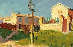 Albert Marquet (1875-1947) Le réverbère, Arcueil