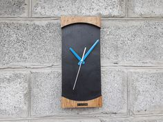 Wall Clock Wooden, Wood Design, Etsy Seller, Handmade Items, Creative, Ideas, Thoughts, Tree Designs