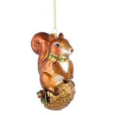 Weihnachtshänger Eichhörnchen | desiary.de - identity store