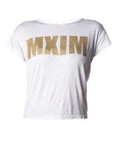 Slogan T-Shirt in White