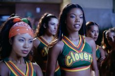 """""""Bring It On"""" marks its fifteenth anniversary this month. Kirsten Dunst, Eliza Dushku, Gabrielle Union, Peyton Reed and many, many more tell all in MTV News' definitive oral history of the movie. Group Halloween Costumes, Halloween Outfits, Halloween 2019, Halloween Party, Teen Movies, Movie Tv, Fille Gangsta, Gabrielle Union, Oral History"""