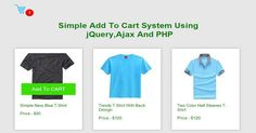 Add to Cart System