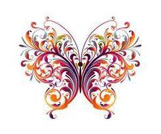 Схема вышивки «ажурная бабочка» - Вышивка крестом