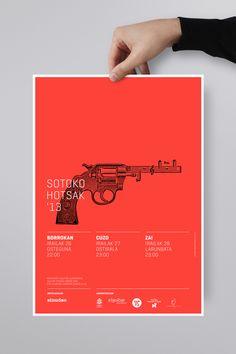 Sotoko Hotsak '13 by La caja de tipos, via Behance