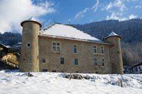 Maison forte de Hautetour à St Gervais @GuidesGPPS http://www.gpps.fr/Guides-du-Patrimoine-des-Pays-de-Savoie/Pages/Site/Visites-en-Savoie-Mont-Blanc/Faucigny/Pays-du-Mont-Blanc/Saint-Gervais-les-Bains-et-Saint-Nicolas-de-Veroce