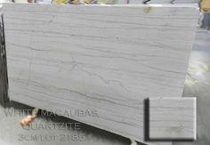 White Macaubas 3cm Lot 2185