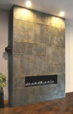 Concrete Fireplace Panels Hard Topix Jenison, MI