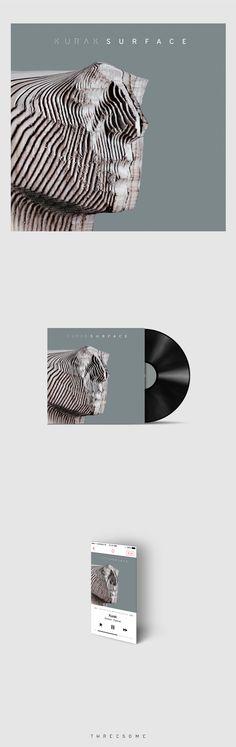 KURAK album cover on Behance PD