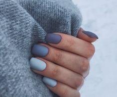Fall Acrylic Nails, Acrylic Nail Designs, Nail Art Designs, Minimalist Nails, Dream Nails, Stylish Nails, Blue Nails, Winter Nails, Nails Inspiration
