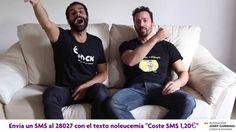 Del 1 al 15 de octubre de 2014, #LanzaUnBesoPor la Fundación Josep Carreras. Si quieres colaborar, sólo has de mandar un SMS con el texto 'NoLeucemia' al número 28027 (coste 1,20€), y donarás el coste íntegro del mismo a la Fundación. Además, si nos enseñas el SMS de vuelta podrás disfrutar en nuestras heladerías de un Alberto Moka Blanco por sólo 1 €. Pablo Puyol y David Ordinas nos envían su mensaje www.valencianashock.com