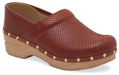 At REI Outlet: Dansko Perfed Pro Clogs. Great for fall!
