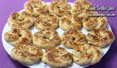 Tuzlu Kurabiye Tarifi Bagel, Scones, Doughnut, Cookie Recipes, Cauliflower, Biscuits, Bread, Meals, Cookies