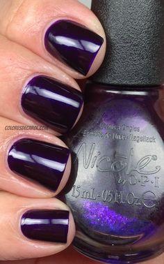 Nicole by OPI - Plum To Your Senses #nail #nails #nailpolish