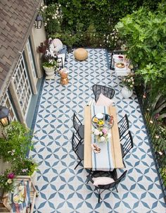 The durability and beauty of outdoor concrete tiles makes it perfect for any pool, terrace or patio. View our selection of outdoor floor tiles and wall tiles now Garden Tiles, Patio Tiles, Garden Floor, Concrete Tiles, Outdoor Tiles Patio, Painted Patio Concrete, Outdoor Mosaic Tiles, Balcony Tiles, Backyards