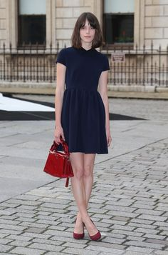 Stacy Martin at a VIP preview of the Royal Academy of Arts Summer Exhibition 2016 on June 7, 2016 in London, England