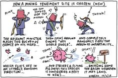 How a mining Tenement site is chosen (NSW) | 130212 Kudelka | Kudelka gallery | The Australian