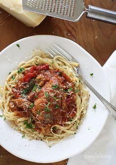 Slow Cooker Chicken Cacciatore | Skinnytaste