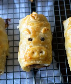 The cutest pork bacon and cheese sausage rolls you will ever see and eat. Easy to make and delicious to eat.