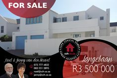 All you ever want in a house! If that sounds too good to be true, read on for proof! Choice of two lounges, various balconies, spacious bedrooms, large inside braai room, covered outside braai patio, great view and an attractive garden. Add to that impressive list four bedrooms, two en-suite bathrooms, one family bathroom and a guest toilet. #CCH #westcoast #langebaan #bluelagoon Provinces Of South Africa, Guest Toilet, 4 Bedroom House, Family Bathroom, Blue Lagoon, Lounges, Balconies, Great View, West Coast