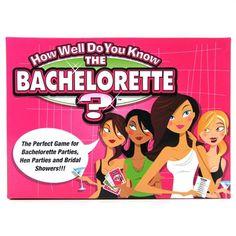 Bachelorette Trivia Party Game