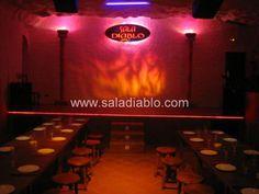 El escenario de la Sala :: Nuestro gran escenario como un teatro para tu gran despedida de soltero y soltera.