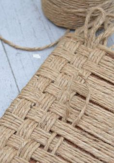 how to create a rustic wood footstool with jute twine crafts how to painted furniture repurposing upcycling rustic furniture - March 02 2019 at Sisal, Twine Crafts, Diy And Crafts, Arts And Crafts, Diy Projects To Try, Craft Projects, Wood Projects, Project Ideas, Diy Footstool