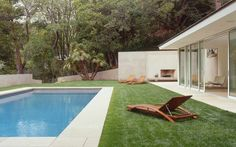Montalba Architects mid century modern house