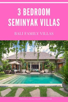 We have found the best family friendly 3 bedroom villas in Seminyak, Bali. Safe with kids including air conditioned living areas and interconnected bedrooms so you can relax on holiday. Bali With Kids, Travel With Kids, Bali Family Holidays, Pool Fence, Bali Travel, Villas, Bedrooms, Relax, Outdoor Decor