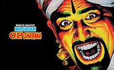 OP Sharma poster - Mythical India