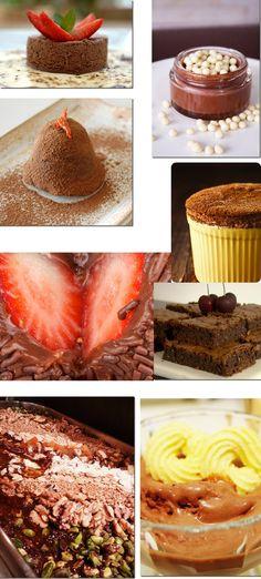 10 receitas de chocolate sedutoras
