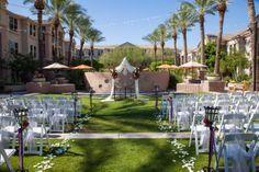 Beautiful June wedding in our Courtyard!