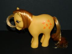 My Little Pony Vintage G1 Butterscotch (Earth Ponies) [2a] #Hasbro