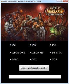 WOW Warlords Of Draenor CD Key Generator download hack full. Free WOW Warlords Of Draenor CD Key Generator keygen download 2016. Download WOW Warlords Of Draenor CD Key Generator file generator online.