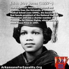 In honor of March being Women's history month, we will be sharing women who have made a difference both historically and in current events.     Today we present Edith Irby Jones!