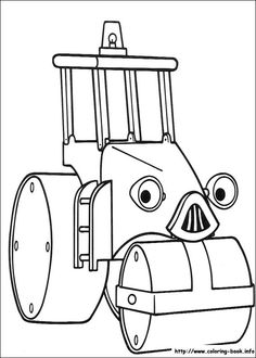 Bob the Builder coloring picture