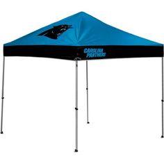 Rawlings Carolina Panthers 10  x 10  Straight Leg Canopy - Walmart.com  Carolina f17344672