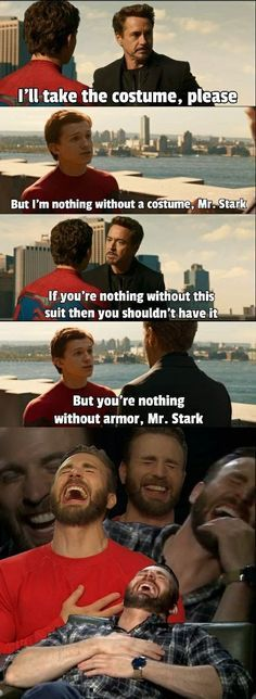 Avengers Humor, Marvel Jokes, Funny Marvel Memes, Dc Memes, Funny Jokes, Funniest Memes, It's Funny, Captain Marvel, Marvel Avengers