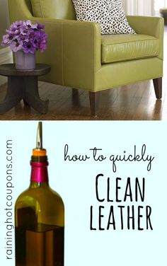 How To Easily and Quickly Clean Leather Furniture - Raining Hot Coupons