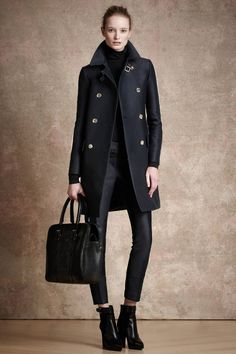 """pretaportre: """" In love with this collection! Belstaff Pre-Fall 2013 via Vogue. Style Work, Mode Style, Style Me, Look Fashion, Womens Fashion, Fashion Trends, Runway Fashion, Fall Fashion, Fashion Models"""