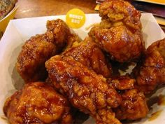 Honey Bbq Boneless Wings, so craving this right now