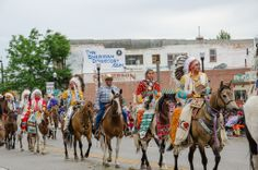 Sheridan, Wyoming Rodeo Parade 2013 Photo by Mark Carroll Photography.