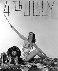Susan Hayward #vintage #4th #july #swim #fourth
