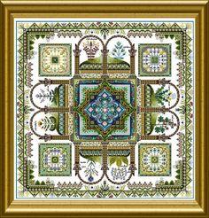 OCF – ONL 072 – The Herbularius Garden Mandala |
