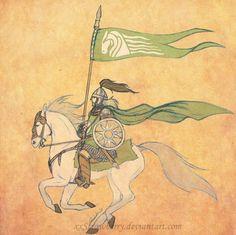 Rider of the Riddermark by xxStrawberry deviantart.com