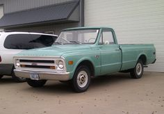 1968 Chevy...you almost never see a stock piece anymore, especially as nice as this one looks.