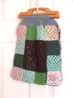 Vintage Knitted Bag
