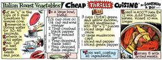 Cheap Thrills Cuisine Comic Strip, September 17, 2014 on GoComics.com