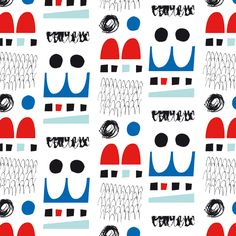 Energetic Patterns and Decorative Illustration from Esther Cox | Ape on the Moon