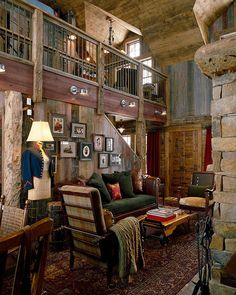 Perfect Log Home residence in Old Snowmass, Colorado. If I could replicate this exactly I would.
